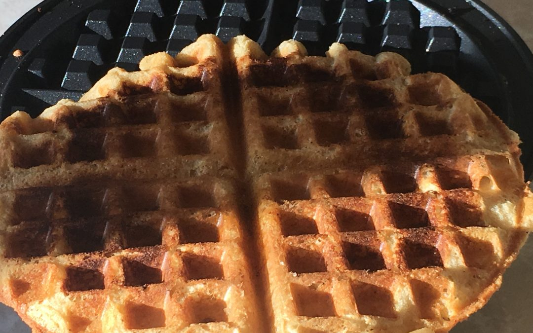 The Perfect Gluten Free Vegan Waffle!