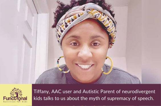 74 Why AAC is better than Speech – with Tiffany!